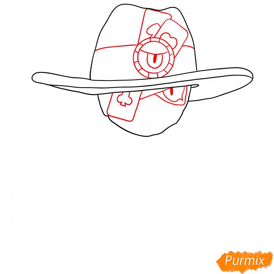 Рисуем Бедовую Тару - шаг 2