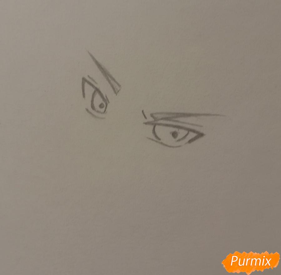 Рисуем Беннета из игры Genshin Impact - шаг 1
