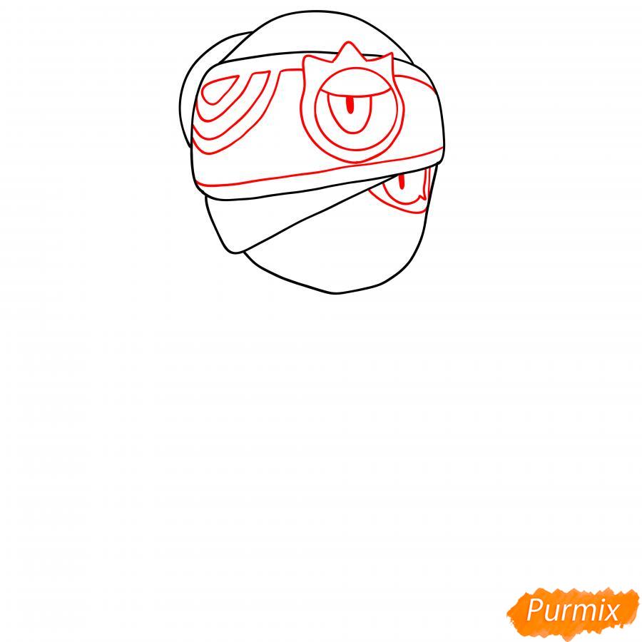 Рисуем Индиго Тару - шаг 2
