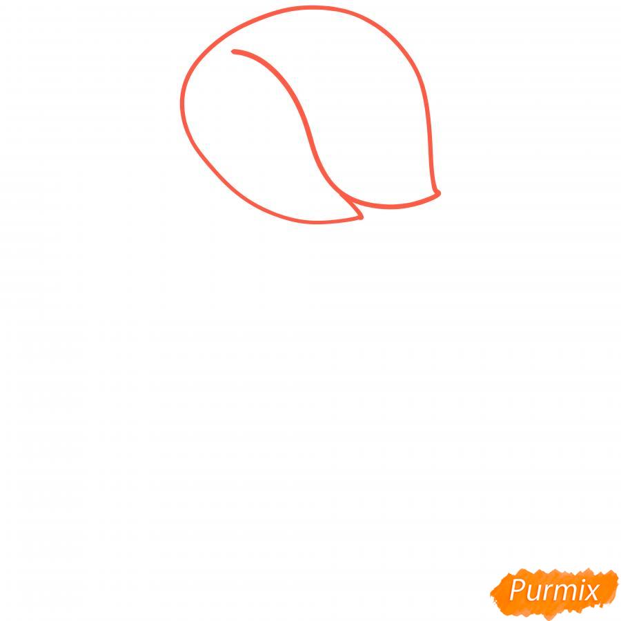 Рисуем Эдгара из Бравл Старс - шаг 1