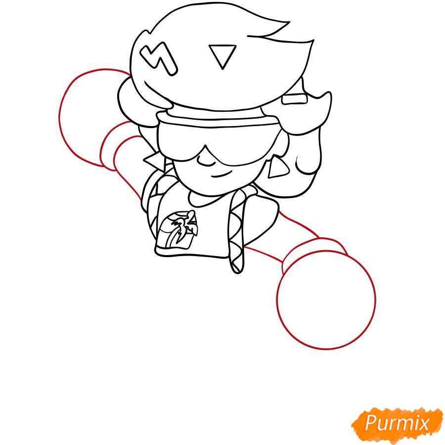 Рисуем Коко Розу - шаг 4