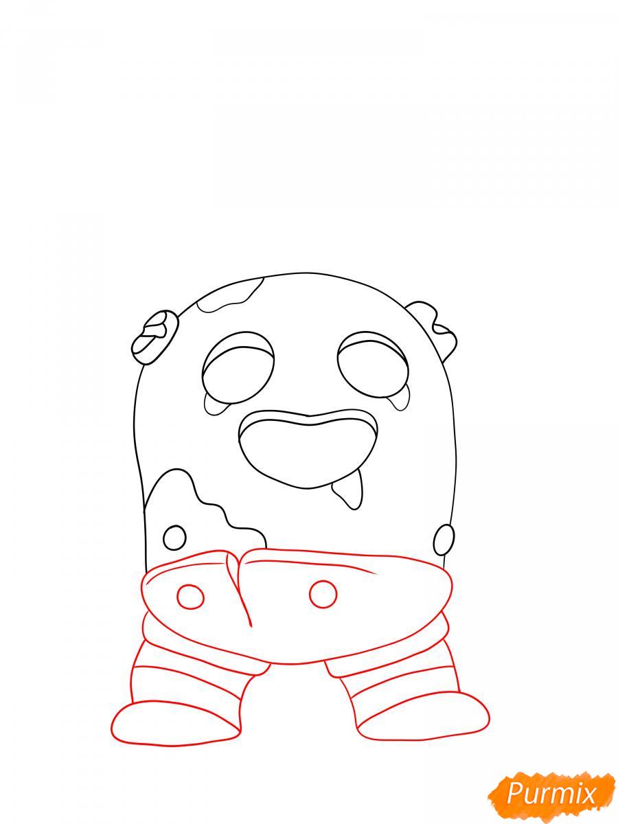 Рисуем робо Спайка - шаг 3