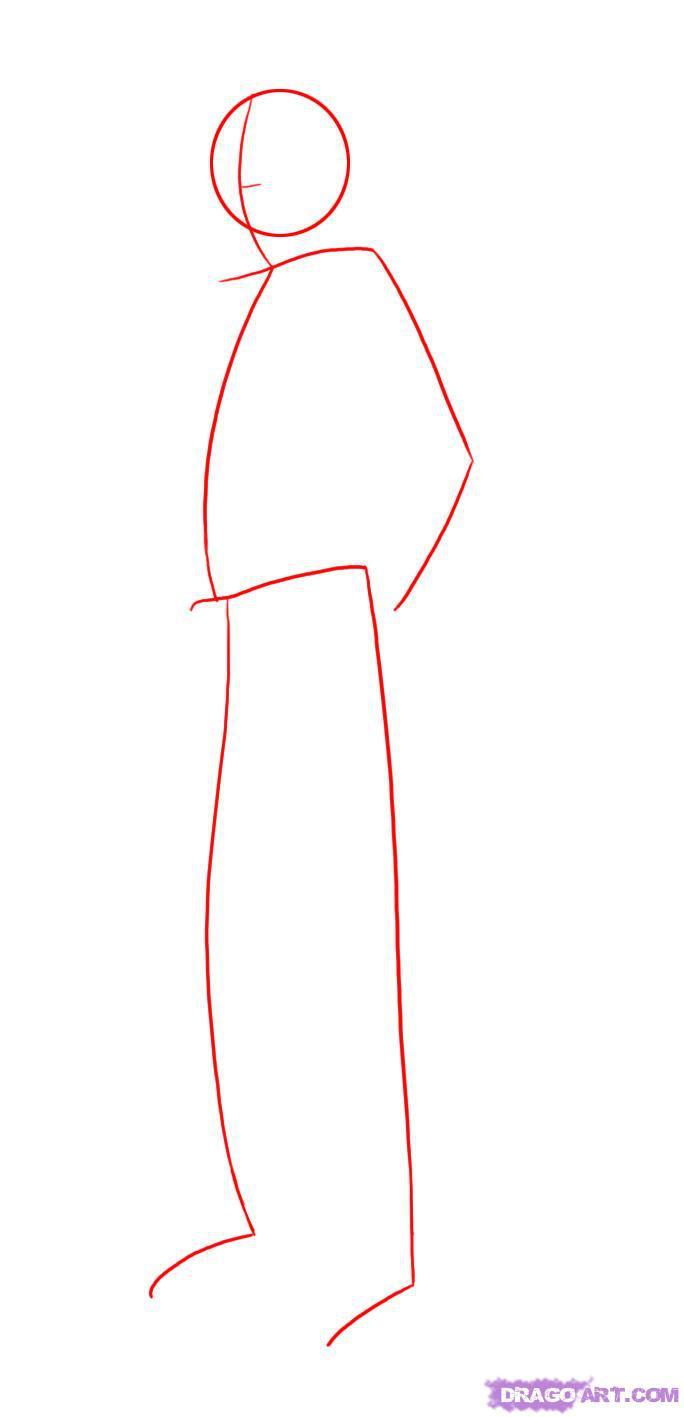 Рисуем Альтаира в полный рост - шаг 1