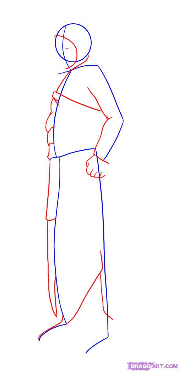 Рисуем Альтаира в полный рост - шаг 2
