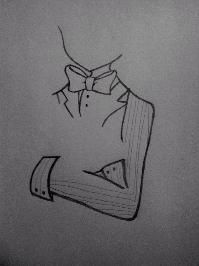 Рисуем Бонни с милыми кроликами - шаг 4