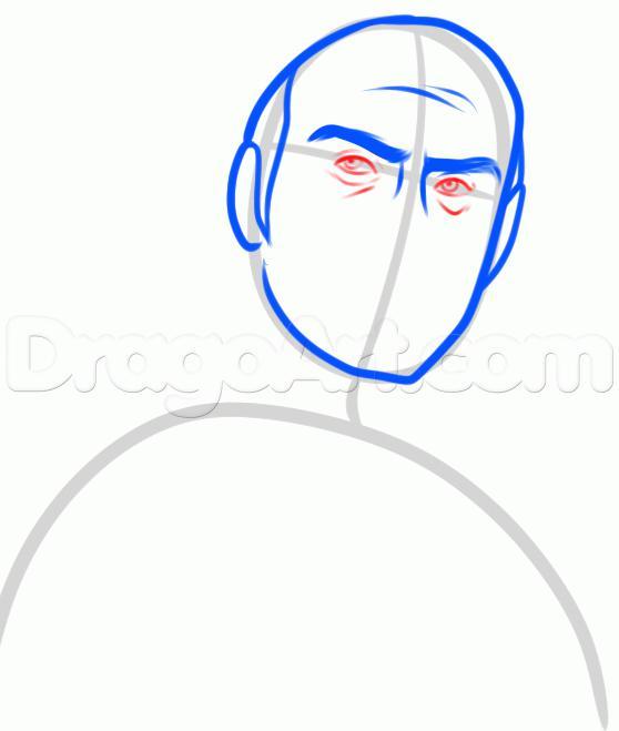 Рисуем Тревора Филипса  для начинающих - шаг 4