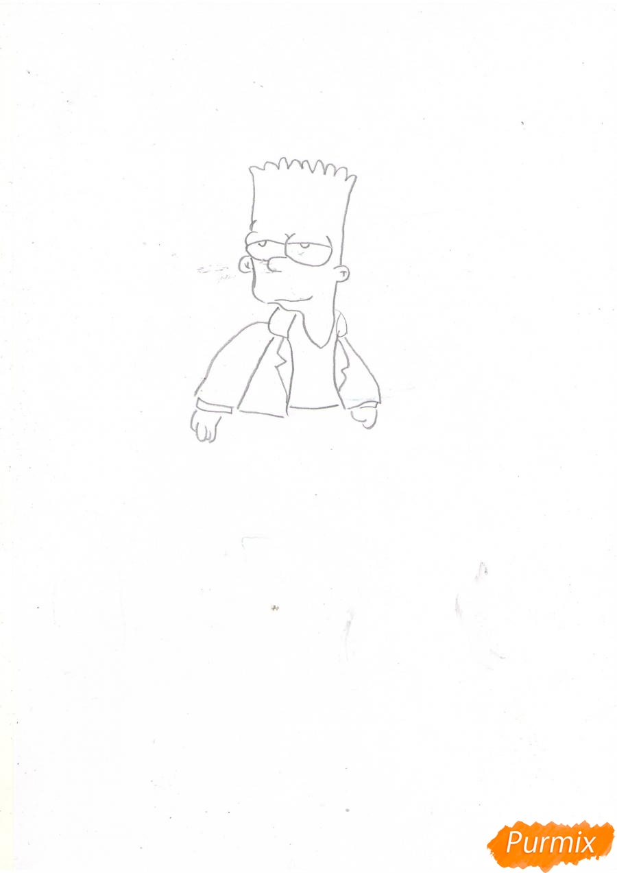 Рисуем Барта в полный рост - шаг 3