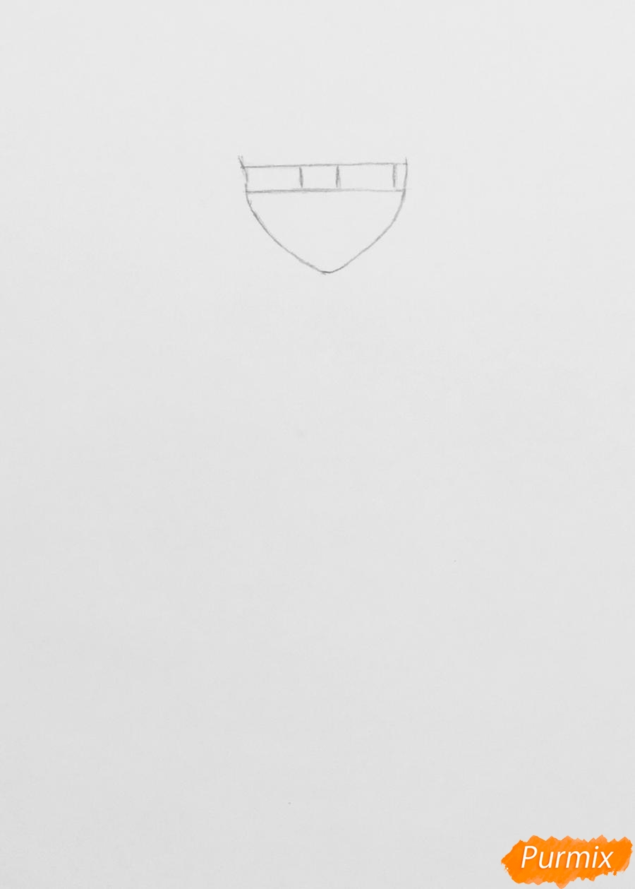 Рисуем Хлою пчелу из мультфильма Леди Баг и Супер Кот - шаг 1