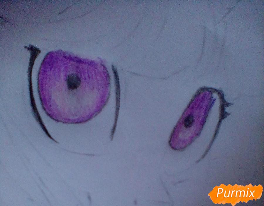 Рисуем и раскрасить Twilight Sparkle - шаг 10