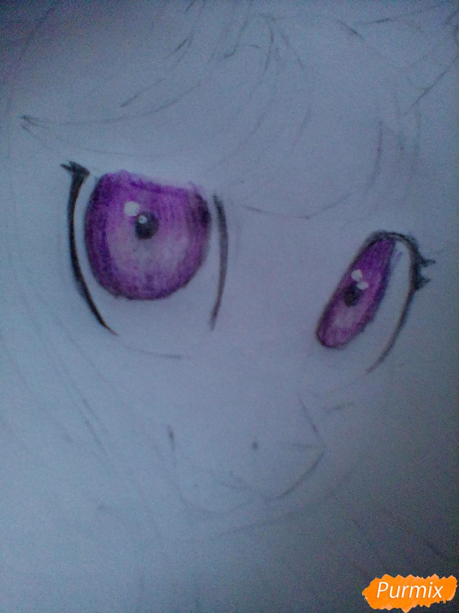 Рисуем и раскрасить Twilight Sparkle - шаг 11