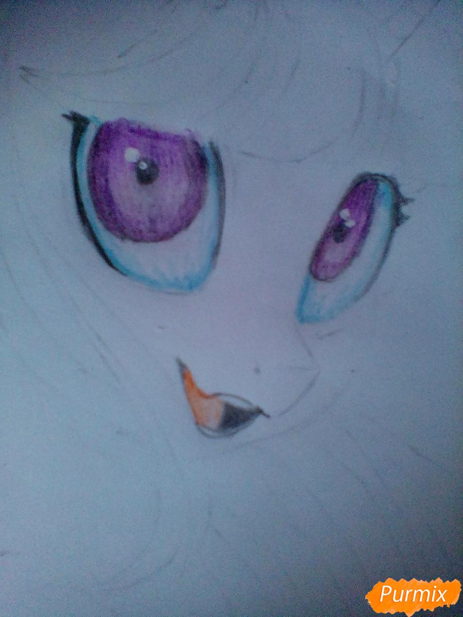 Рисуем и раскрасить Twilight Sparkle - шаг 12