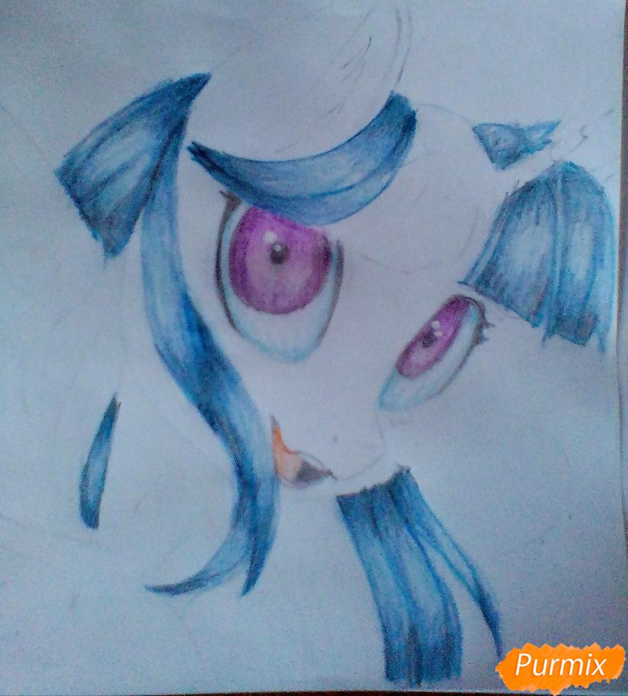Рисуем и раскрасить Twilight Sparkle - шаг 13