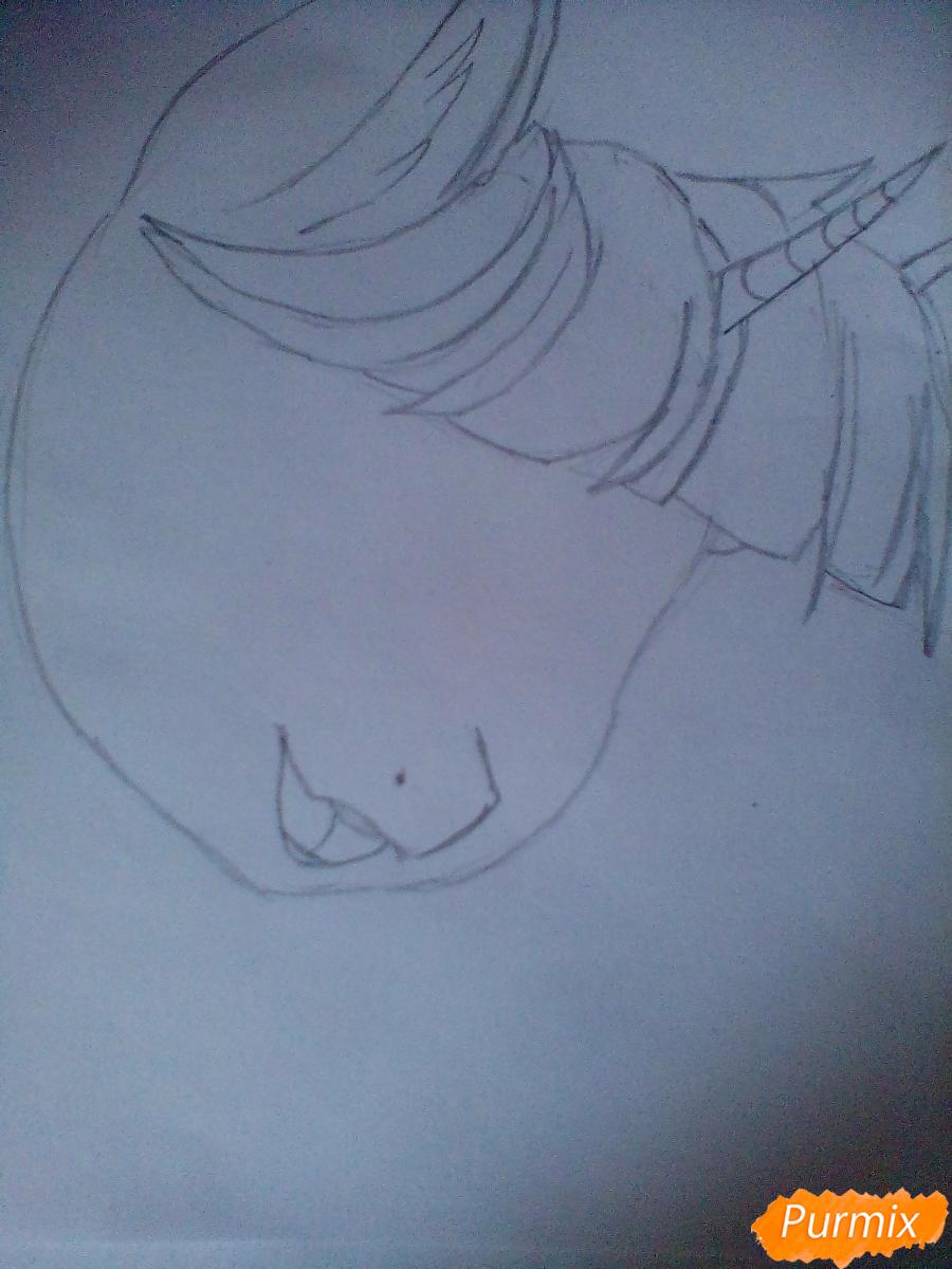 Рисуем и раскрасить Twilight Sparkle - шаг 3