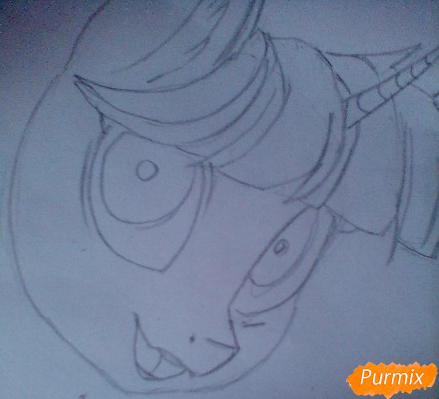 Рисуем и раскрасить Twilight Sparkle - шаг 4