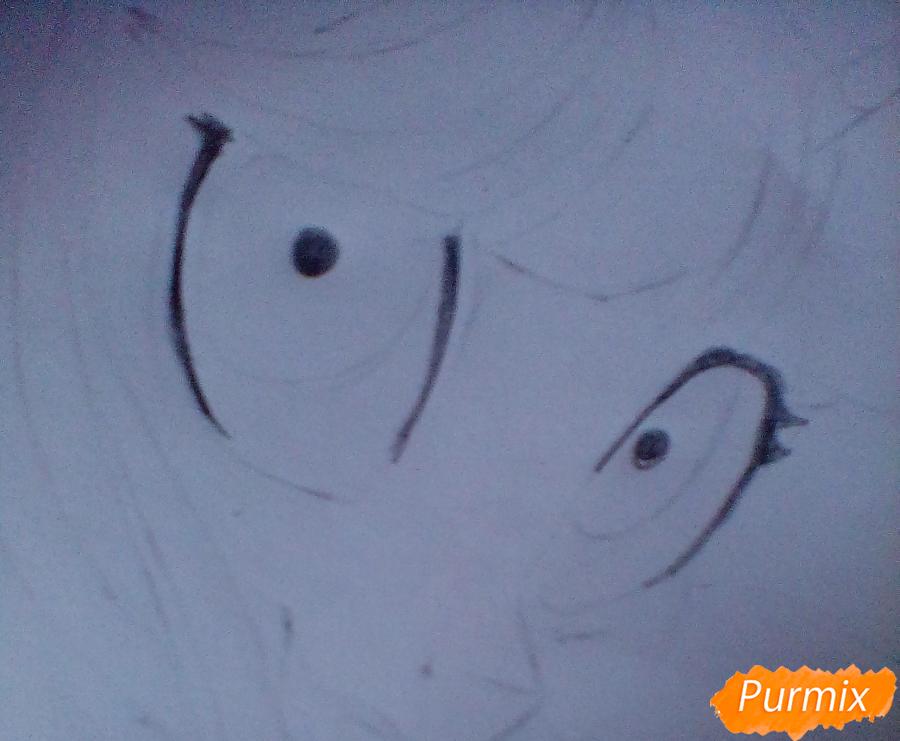 Рисуем и раскрасить Twilight Sparkle - шаг 7