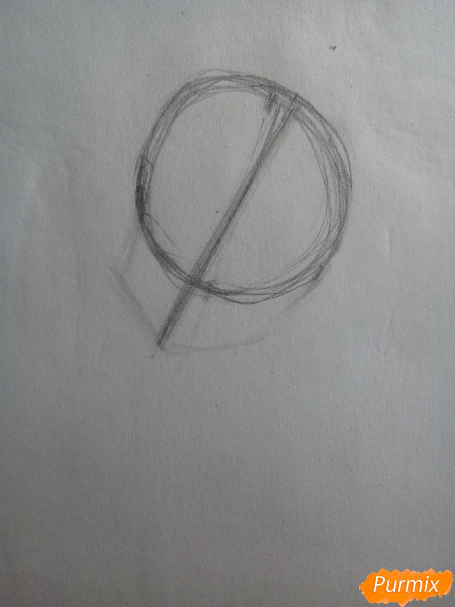 Рисуем Лемон Зест из Девочки из Эквестрии - шаг 1