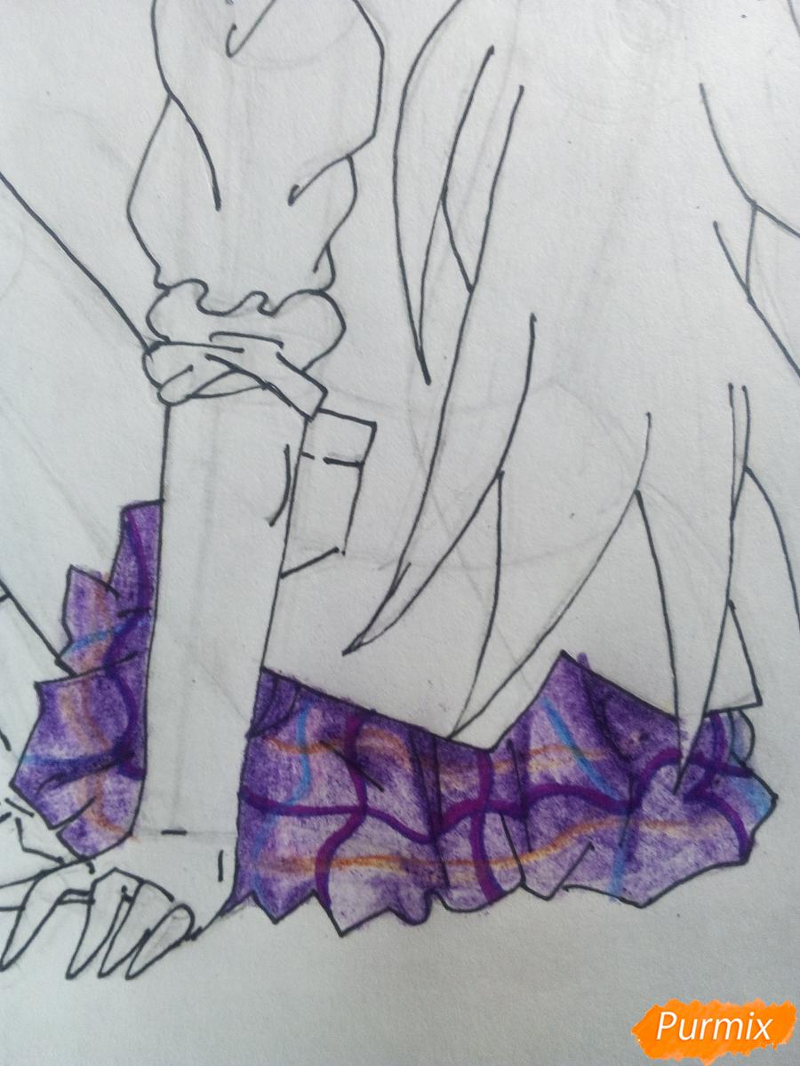 Рисуем Лемон Зест из Девочки из Эквестрии - шаг 10