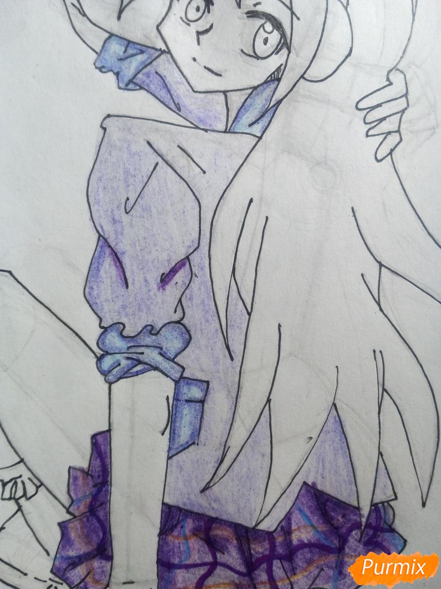 Рисуем Лемон Зест из Девочки из Эквестрии - шаг 12