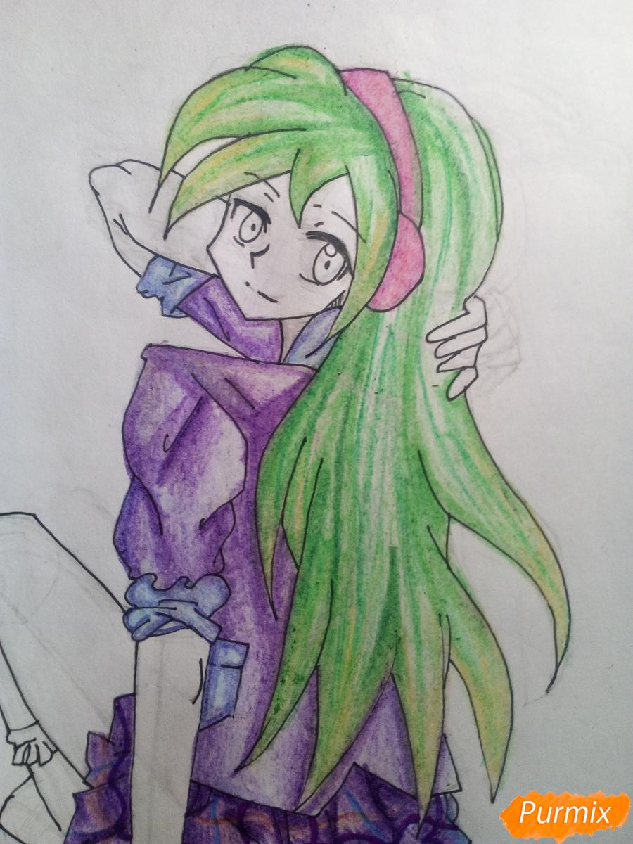 Рисуем Лемон Зест из Девочки из Эквестрии - шаг 15