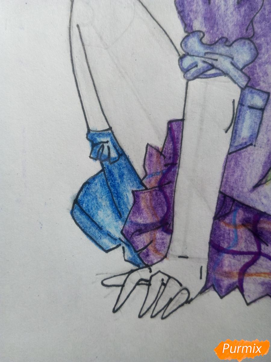 Рисуем Лемон Зест из Девочки из Эквестрии - шаг 16