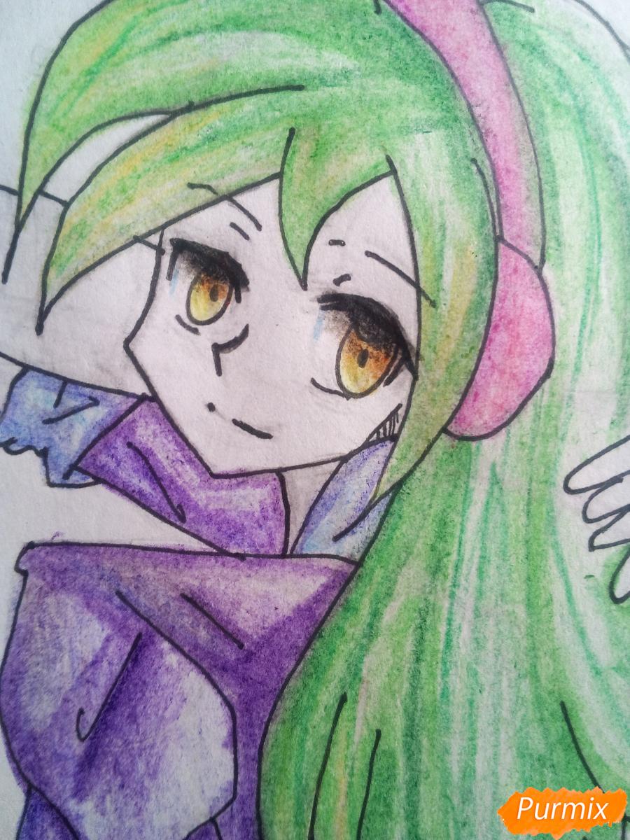 Рисуем Лемон Зест из Девочки из Эквестрии - шаг 17