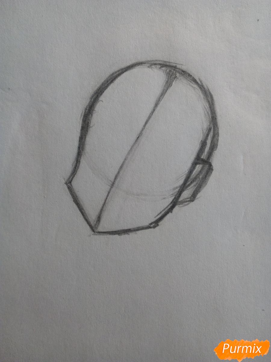 Рисуем Лемон Зест из Девочки из Эквестрии - шаг 2