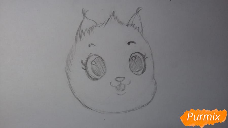 Рисуем Пикси из комикса Пикси и Брут - шаг 3