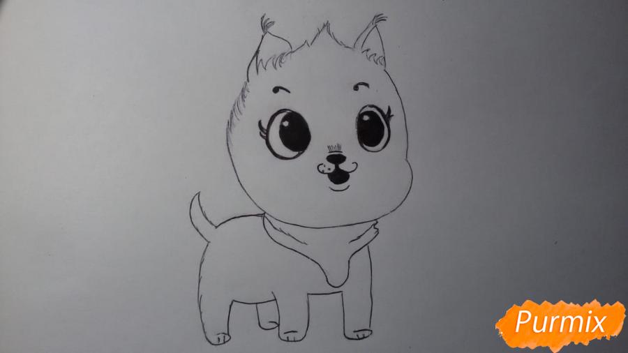 Рисуем Пикси из комикса Пикси и Брут - шаг 5