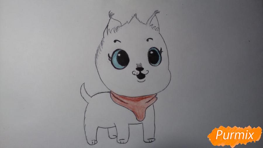 Рисуем Пикси из комикса Пикси и Брут - шаг 6