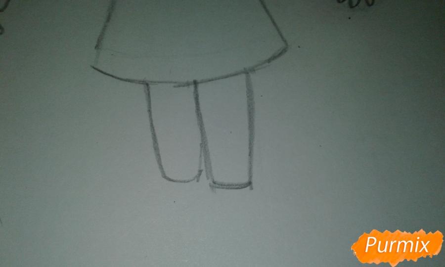 Рисуем  Стар Баттерфляй во время Мьюзревания - шаг 11
