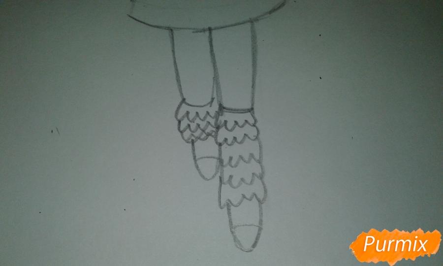 Рисуем  Стар Баттерфляй во время Мьюзревания - шаг 13
