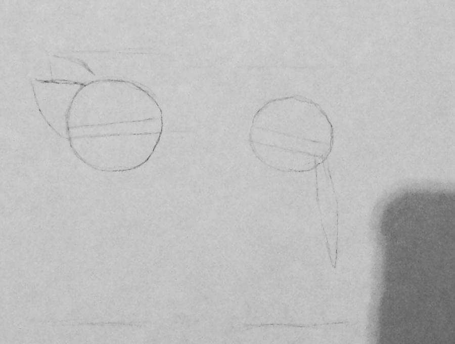 Рисуем и раскрасить Ника и Джуди из Зверополиса - шаг 2