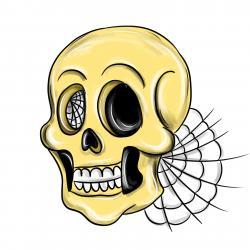 Фото череп на Хэллоуин