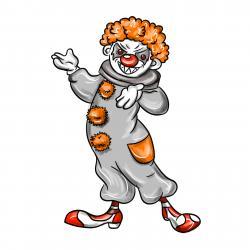 Фото клоуна на Хэллоуин