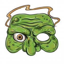Фото маску на Хэллоуин