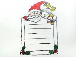 открытку, письмо  Деду Морозу