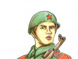 солдата на 9 мая