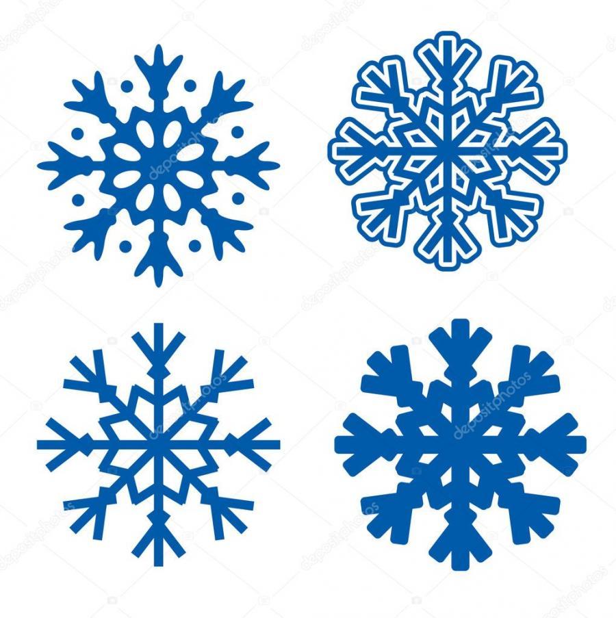 Рисунки снежинок для срисовки - шаг 5