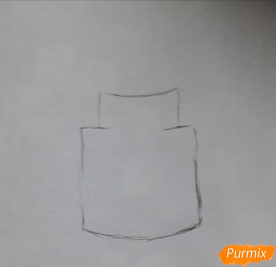 kak-narisovat-romashku-v-steklyannoj-banke-1 Как нарисовать Ромашку поэтапно