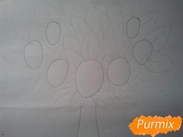 Как просто нарисовать фамильное древо - шаг 3