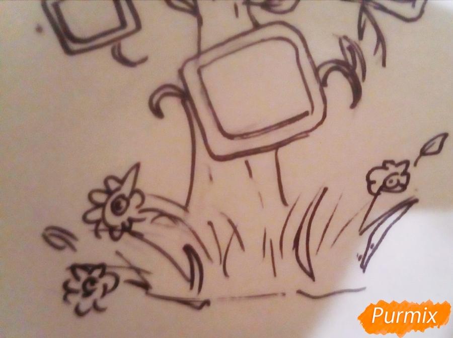 Как просто нарисовать семейное дерево - шаг 5