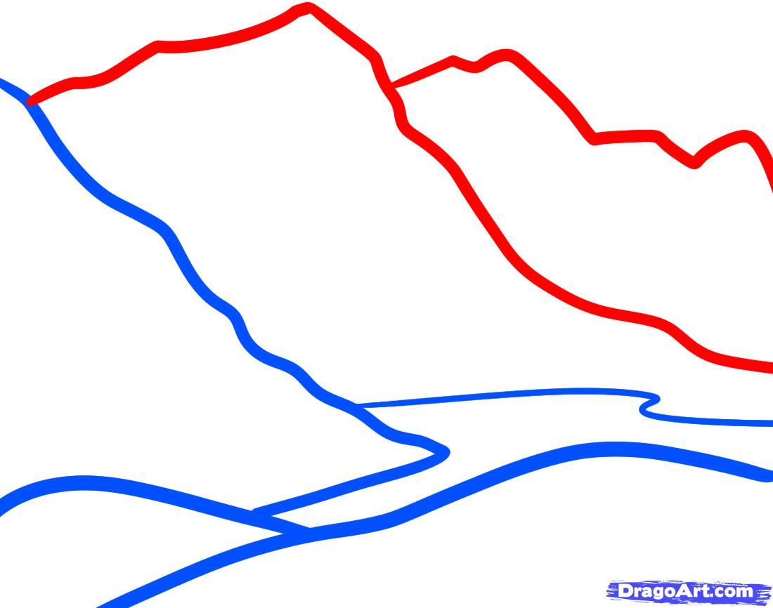 Рисуем Горы