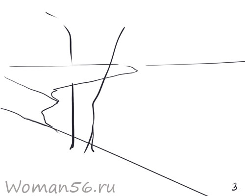 Рисуем осенний пейзаж карандашами - шаг 3