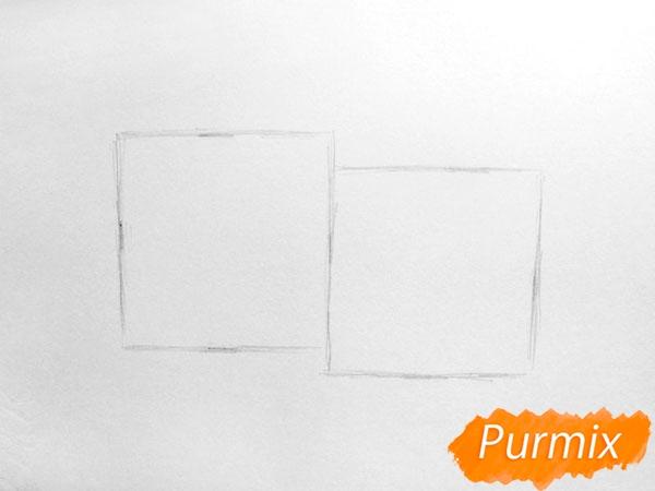 Рисуем болгарский, чили перец карандашами - шаг 2