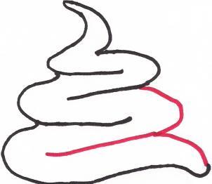 Рисуем рожок   для начинающих - шаг 4