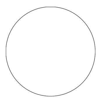 Рисуем пиццу - шаг 1