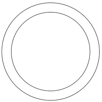 Рисуем пиццу - шаг 2