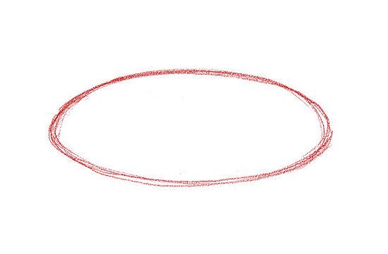 Рисуем Торт карандашами - шаг 1