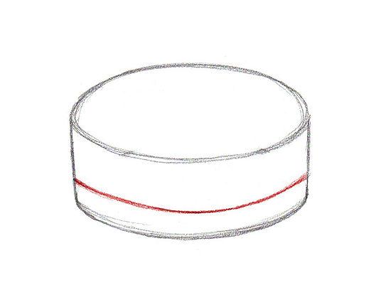 Рисуем Торт карандашами - шаг 3