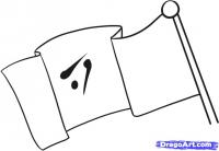 Как легко нарисовать  Флаг